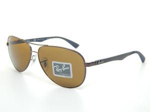 Kính mắt Ray Ban Tech RB8313 014/N6 Brown/Crystal Brown Polarized Lens 61mm Sunglasss