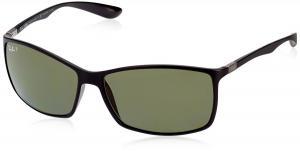Kính mắt Ray-Ban Men 1102098001 Black/Grey Sunglasses 62mm