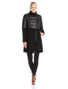 Áo khoác BCBGeneration Women's Wool-Tweed Moto Coat