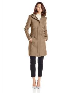 Áo khoác Kenneth Cole Women's Zip-Front Wool Coat with Pockets