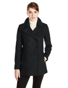 Áo khoác Tommy Hilfiger Women's Double-Breasted Classic Peacoat