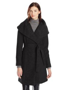 Áo khoác Calvin Klein Women's Lux Wool Wrap Coat with Belt
