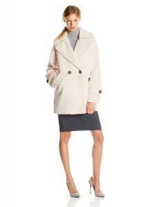Áo khoác Trina Turk Women's Nancy Chic Wool-Blend Cocoon Coat