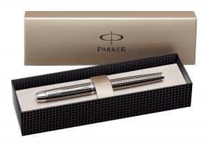 Bút Parker IM Premium Fountain Pen, Medium Point, Chiseled Gun Metal (S0908680)