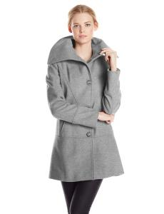 Áo khoác Kensie Women's Single Breasted Wool Coat