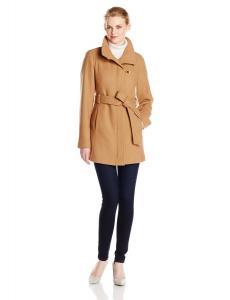 Áo khoác Ellen Tracy Outerwear Women's Belted Wool Coat