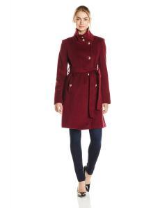 Áo khoác T Tahari Women's Izzy Wool Military Coat