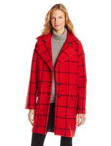 Áo khoác Rebecca Minkoff Women's Ford Window Pane Wool Coat