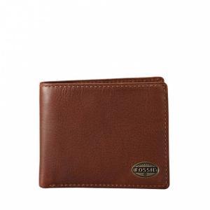 Ví Fossil Estate Zip Gusset Traveler Men's Wallet Cognac Ml3220222