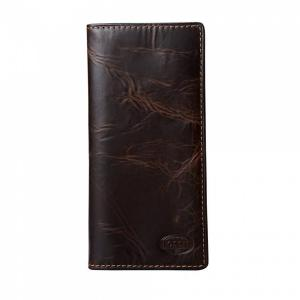 Ví Fossil Men's Norton Secretary Wallet, Brown Ml3176200