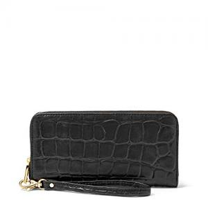 Ví Fossil Women's Sydney Zip Clutch Wallet Black Sl4731001