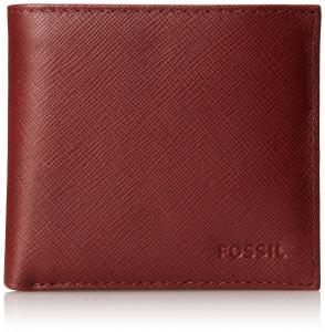 Ví Fossil Men's Caleb Extra Card Bifold Red
