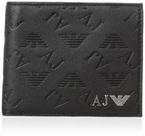 Ví Armani Jeans Men's QX Embossed Eco Leather Bifold Wallet