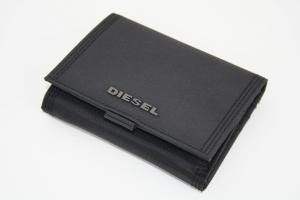 Ví DIESEL Men's Disk Wallet TU Black