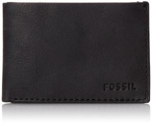 Ví Fossil Men's Nova Coin Pocket Bifold Black