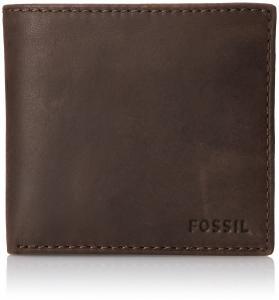 Ví Fossil Men's Nova Extra Card Bifold Brown
