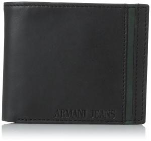 Ví Armani Jeans Men's C2 Leather Bifold Wallet 2