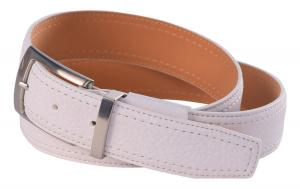 Dây lưng Nike Mens' Tripunto G-Flex Grain Leather Belt White-36