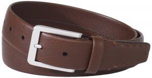 Dây lưng Trafalgar Men's Bison Belt With Antiqued Roller Buckle