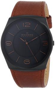 Đồng hồ Skagen Men's SKW6040 Havene Quartz 3 Hand Stainless Steel Light Brown Watch