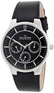Đồng hồ Skagen Men's 331XLSLB Jonas Quartz/Multi Stainless Steel Black Watch
