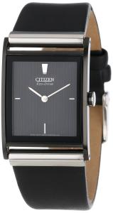 Đồng hồ Citizen Men's BL6005-01E Stainless Steel Watch with Leather Band