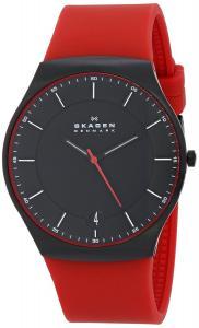 Đồng hồ Skagen Men's SKW6073 Balder Quartz 3 Hand Date Titanium Red Watch