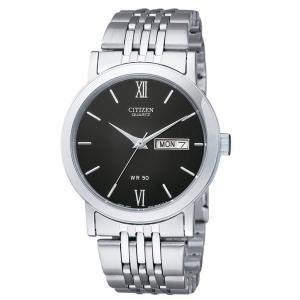 Đồng hồ Citizen Quartz Day Date Stainless Steel Men's Watch - BK4050-54E