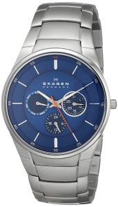 Đồng hồ Skagen Men's SKW6137 Aabye Quartz/Multi Stainless Steel Silver Watch