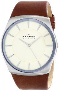 Đồng hồ Skagen Men's SKW6084 Havene Quartz 3 Hand Stainless Steel Dark Brown Watch