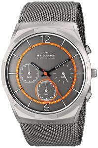 Đồng hồ Skagen Men's SKW6135 Melbye Quartz/Chronograph Titanium Gray Watch