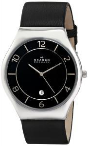 Đồng hồ Skagen Men's SKW6115 Grenen Quartz 3 Hand Date Stainless Steel Black Watch