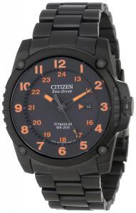 Đồng hồ Citizen Men's BJ8075-58F Eco-Drive STX43 Shock-Proof Titanium Watch