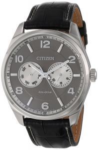 Đồng hồ Citizen Men's AO9020-17H Dress Analog Display Japanese Quartz Black Watch