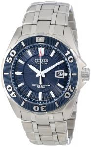 Đồng hồ Citizen Men's Eco-Drive BL1258-53L Blue Dial Stainless Steel Analog Watch