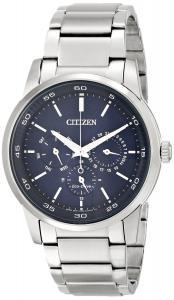 Đồng hồ Citizen Men's BU2010-57L Dress Analog Display Japanese Quartz Silver Watch