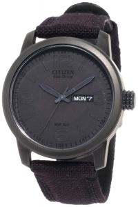 Đồng hồ Citizen Men's BM8475-00F  Black Canvas Strap Eco-Drive Watch