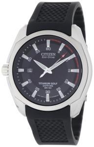 Đồng hồ Citizen Men's BM7120-01E Titanium Golf Eco Drive Watch