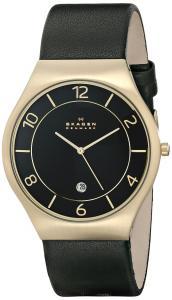 Đồng hồ Skagen Men's SKW6145 Grenen Analog Display Analog Quartz Black Watch