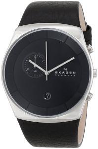 Đồng hồ Skagen Men's SKW6070 Havene Quartz/Chronograph Stainless Steel Black Watch