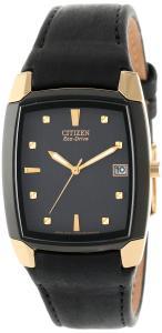 Đồng hồ Citizen Men's BM6574-09E Eco-Drive Leather Watch