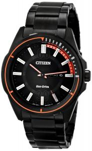 Đồng hồ Citizen Men's AW0038-53E Drive from Citizen HTM Analog Display Japanese Quartz Black Watch