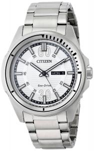 Đồng hồ Citizen Men's AW0031-52A Drive from Citizen HTM Analog Display Japanese Quartz Silver Watch