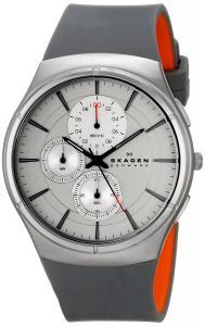 Đồng hồ Skagen Men's SKW6132 Jannik Quartz/Chronograph Stainless Steel Gray Watch