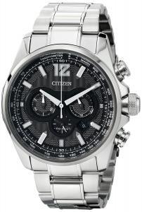 Đồng hồ Citizen Men's CA4170-51E Shadowhawk Analog Display Japanese Quartz Silver Watch