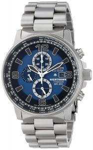 Đồng hồ Citizen Men's CA0500-51L  Eco-Drive Titanium Nighthawk Chronograph Watch