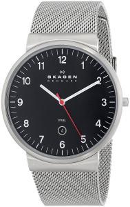 Đồng hồ Skagen Men's SKW6051 Ancher Quartz 3 Hand Date Stainless Steel Silver Watch