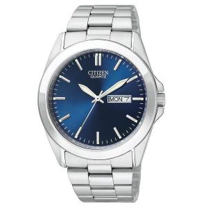 Đồng hồ Citizen Quartz Day Date Blue Dial Men's Watch - BF0580-57L