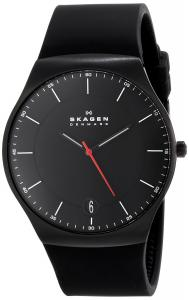 Đồng hồ Skagen Men's SKW6087 Balder Quartz 3 Hand Date Titanium Black Watch