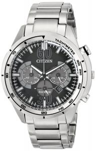 Đồng hồ Citizen Men's CA4121-57E Drive from Citizen HTM Analog Display Japanese Quartz Silver Watch